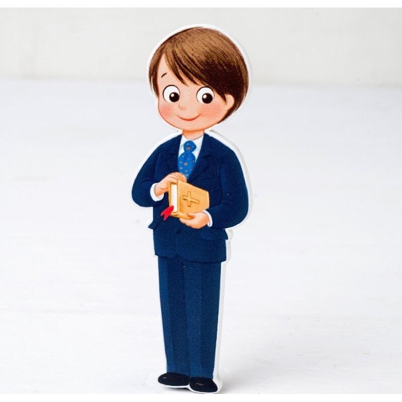 Figure 2d Costume De Communion En Bois Enfant Et