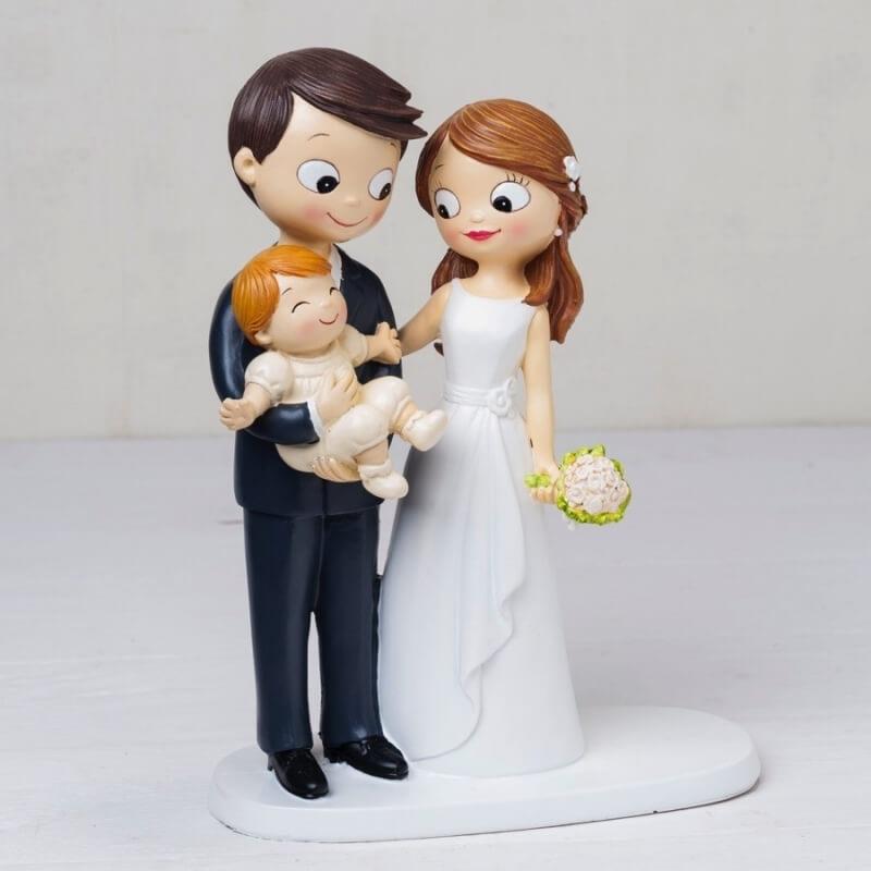 Figure mariage avec enfant