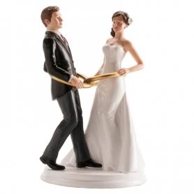Figurine de Mariage Alliances  Figurine Gateau Mariage Cadeaux