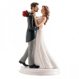 Figurine de Mariage Valse  Figurine Gateau Mariage Cadeaux