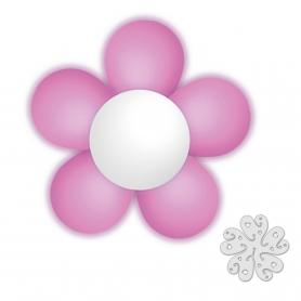 Paquet Fleur de Ballons Rose