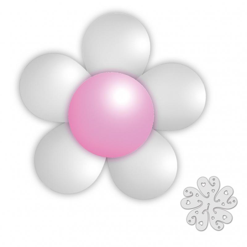 Paquet de Ballons pour Faire une Fleur de Couleur Argent