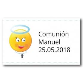 Adhésifs Personnalisés pour Communion Garçon