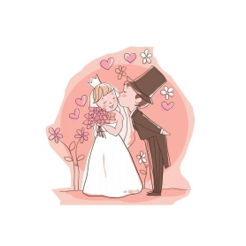 Miroir de Poche Personnalisé pour un Mariage  Miroir de Poche